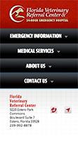 Florida Veterinary Referral Center mobile