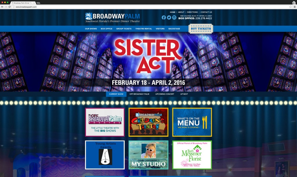 Broadway Palm Dinner Theatre desktop