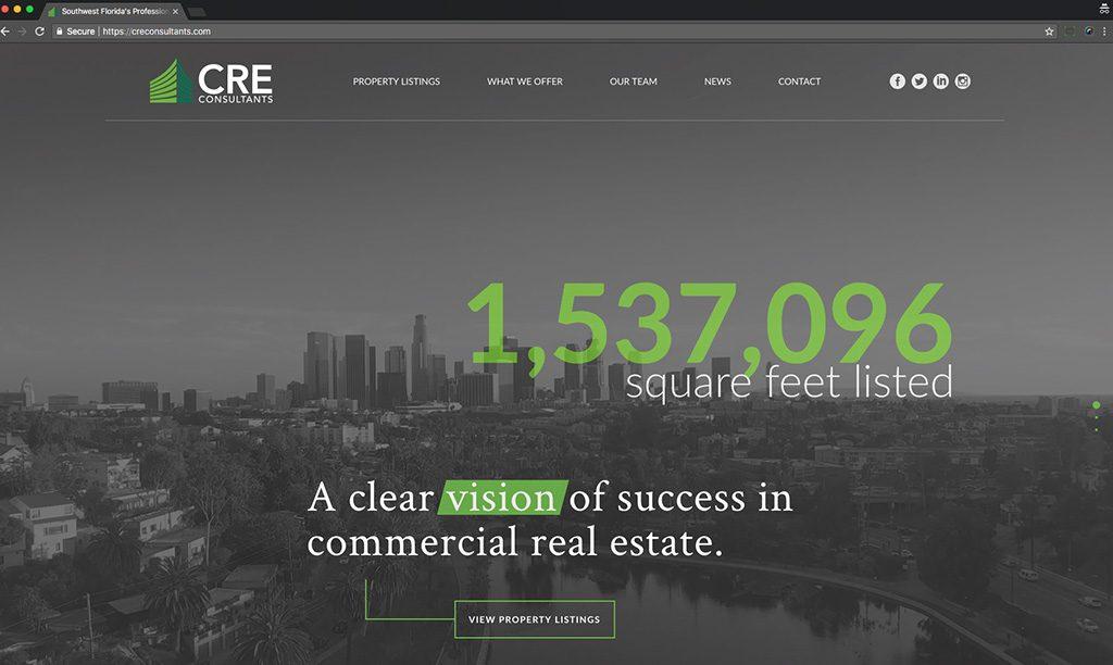 CRE Consultants desktop