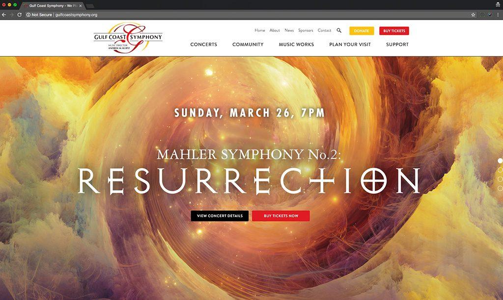 Gulf Coast Symphony desktop
