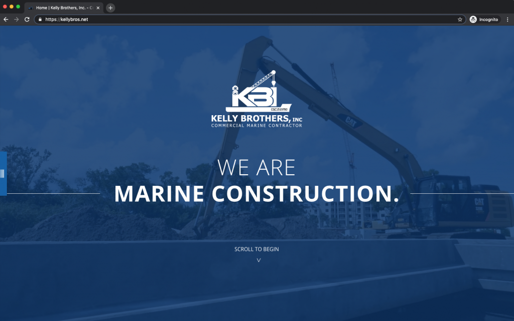 Kelly Brothers, Inc. desktop